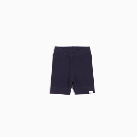 ''Miles Basic'' Navy Biker Short