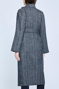 AURE Long Coat Tweed