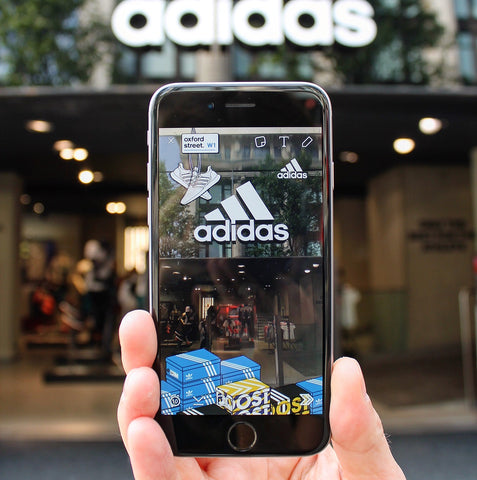 Snapchat Geofilters Example for Adidas Creative Entrepreneurship