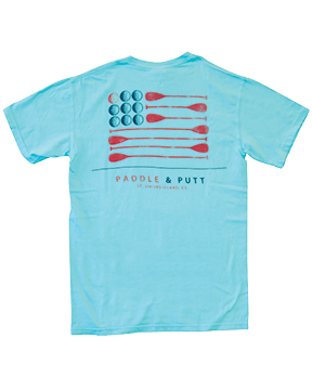 Paddle and Putt Flag T-Shirt
