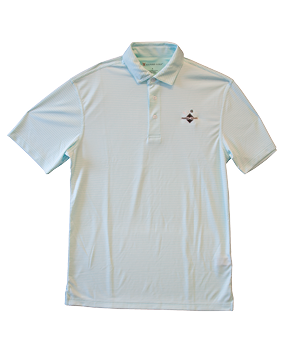 Men's Polo Aruba Blue