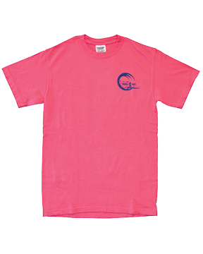 Paddle and Putt Sunset T-shirt front