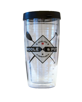 Paddle and Putt Tumbler