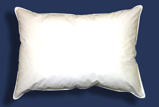 25/75 Natural Goose Down and Goose Feather Pillow - Bed Linens Etc.