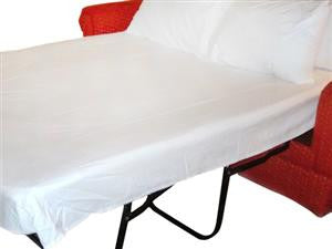 Clearance Queen Sofa Bed fitted sheet Light Blue - Bed Linens Etc.