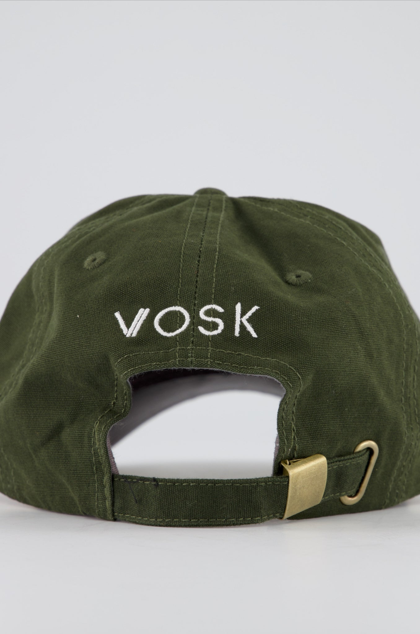 V-Logo Dad Cap Olive Green