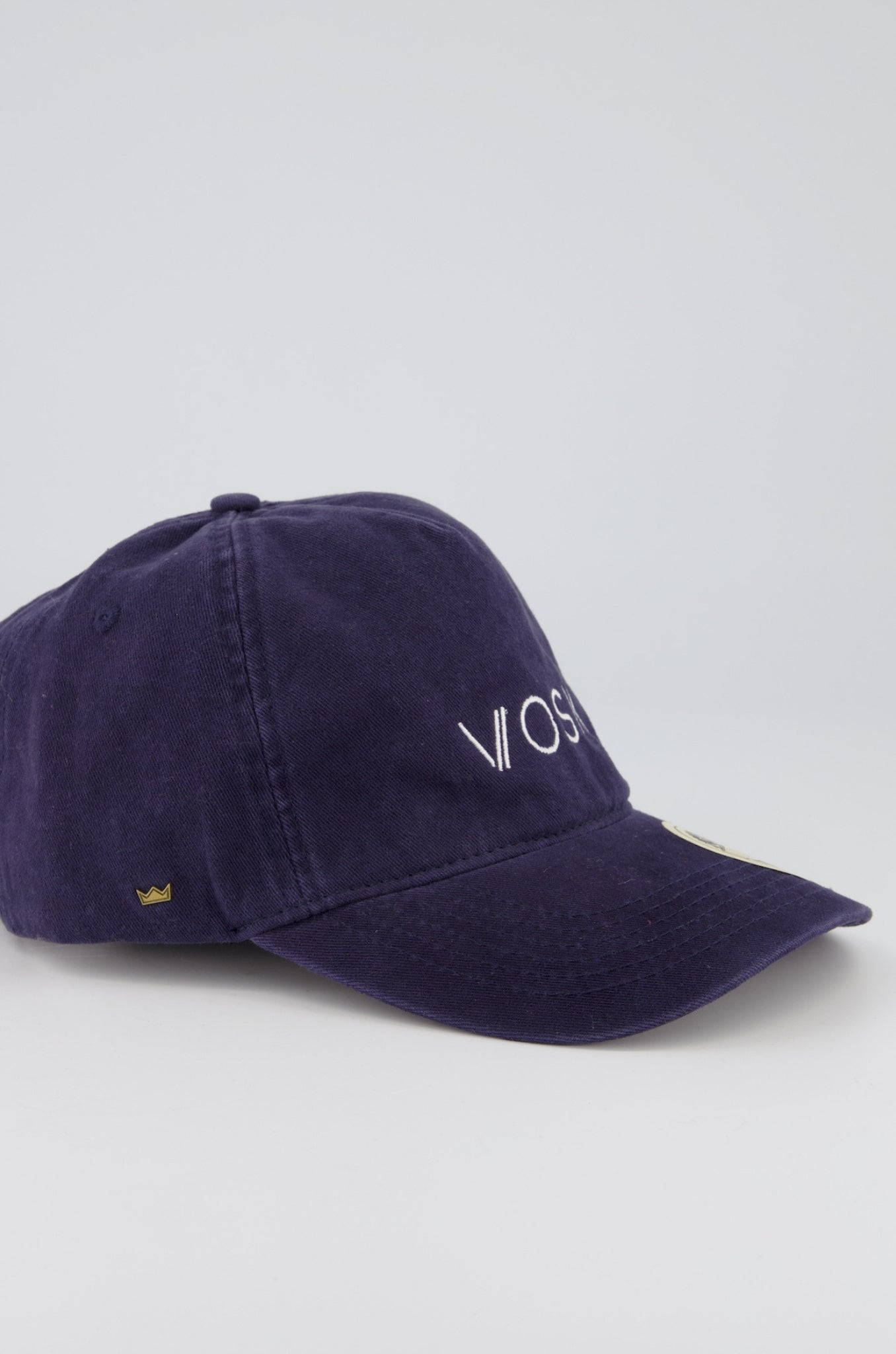 VOSK Logo Vintage 5 Panel Strap-Back Navy