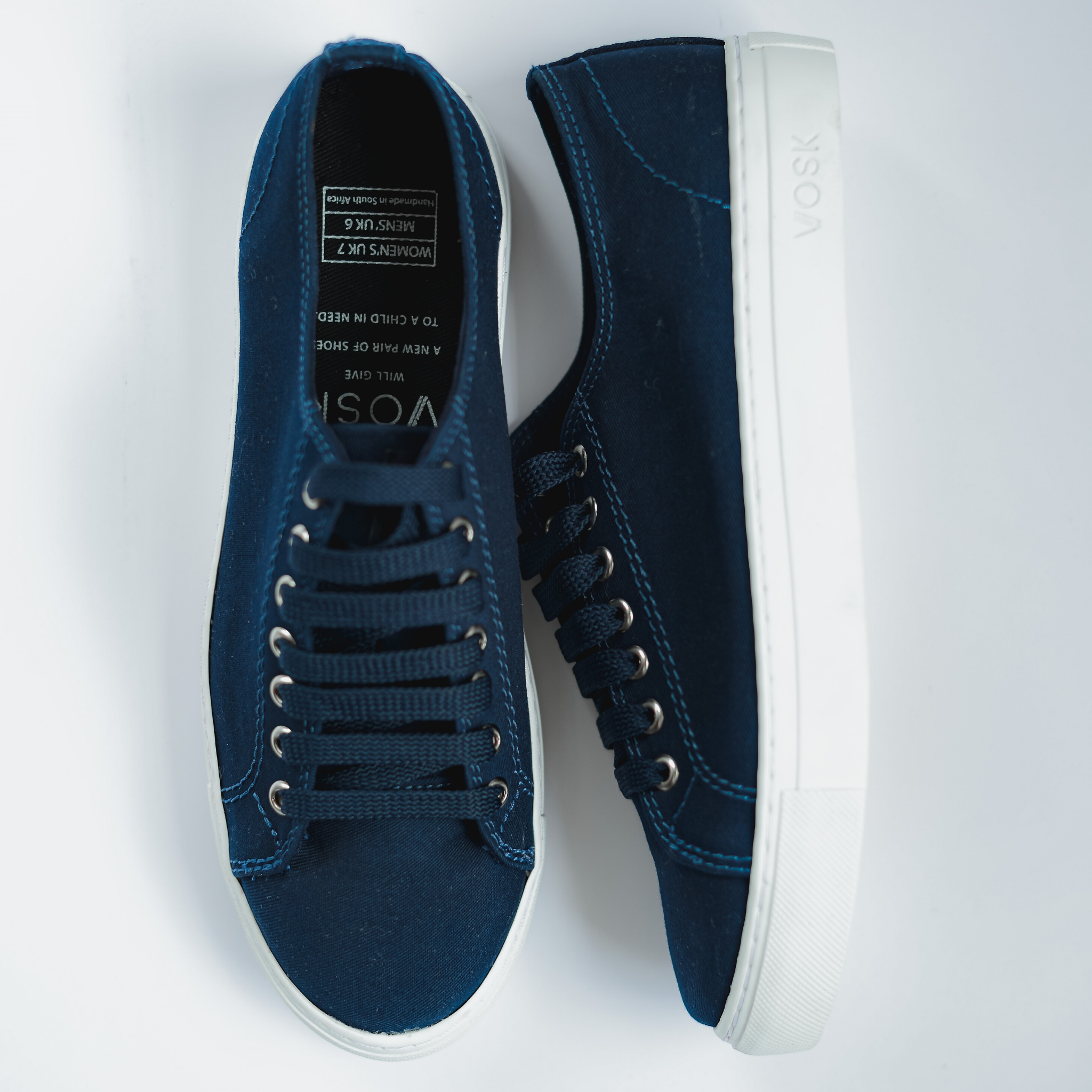 Men's Authentic Low Top - Navy