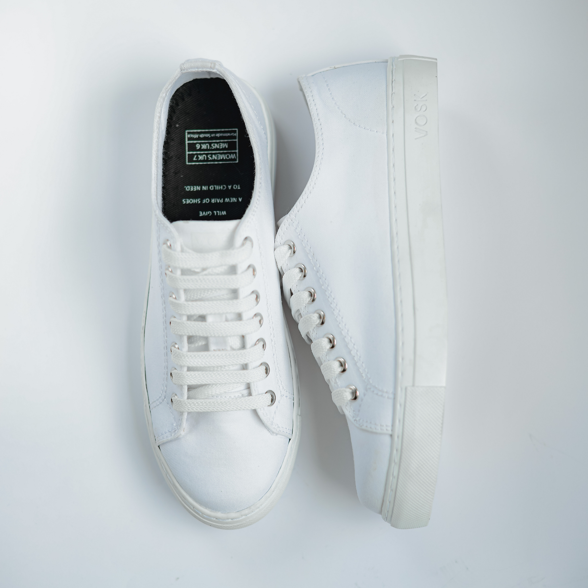 Women's Authentic Low Top - White