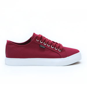 Ox Blood Red Authentic Low-Top