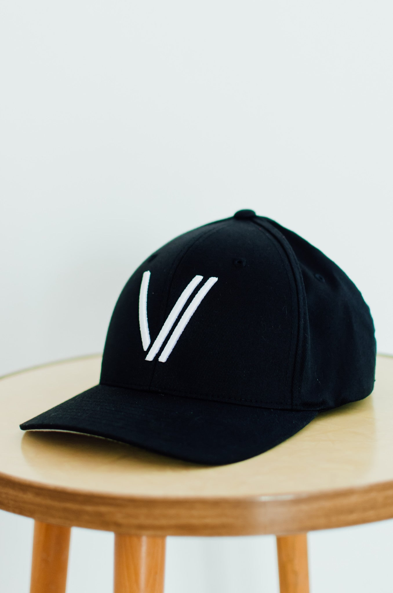 Junior V Baseball Cap Black