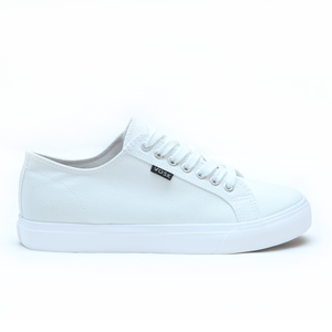 White Authentic Low-Top