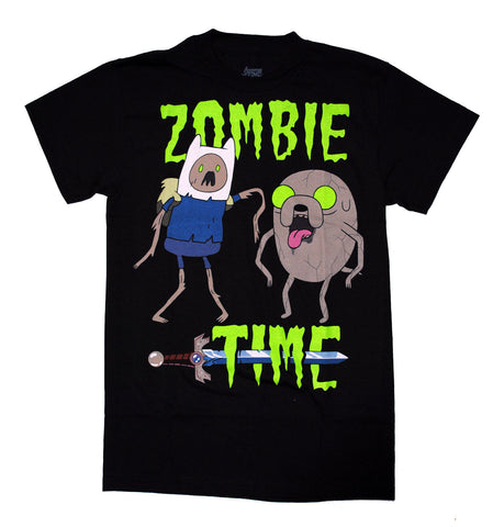 Cartoon Network Adventure Time- Zombie Time T Shirt Adult Unisex sizes S to 3XL
