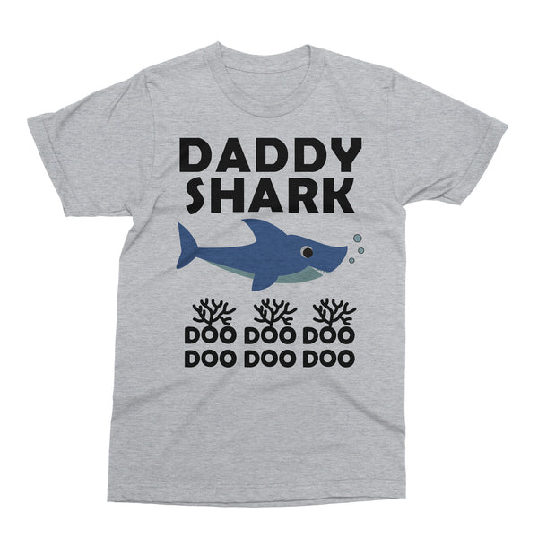 Daddy Shark Doo Doo Father's Day Gift T Shirt