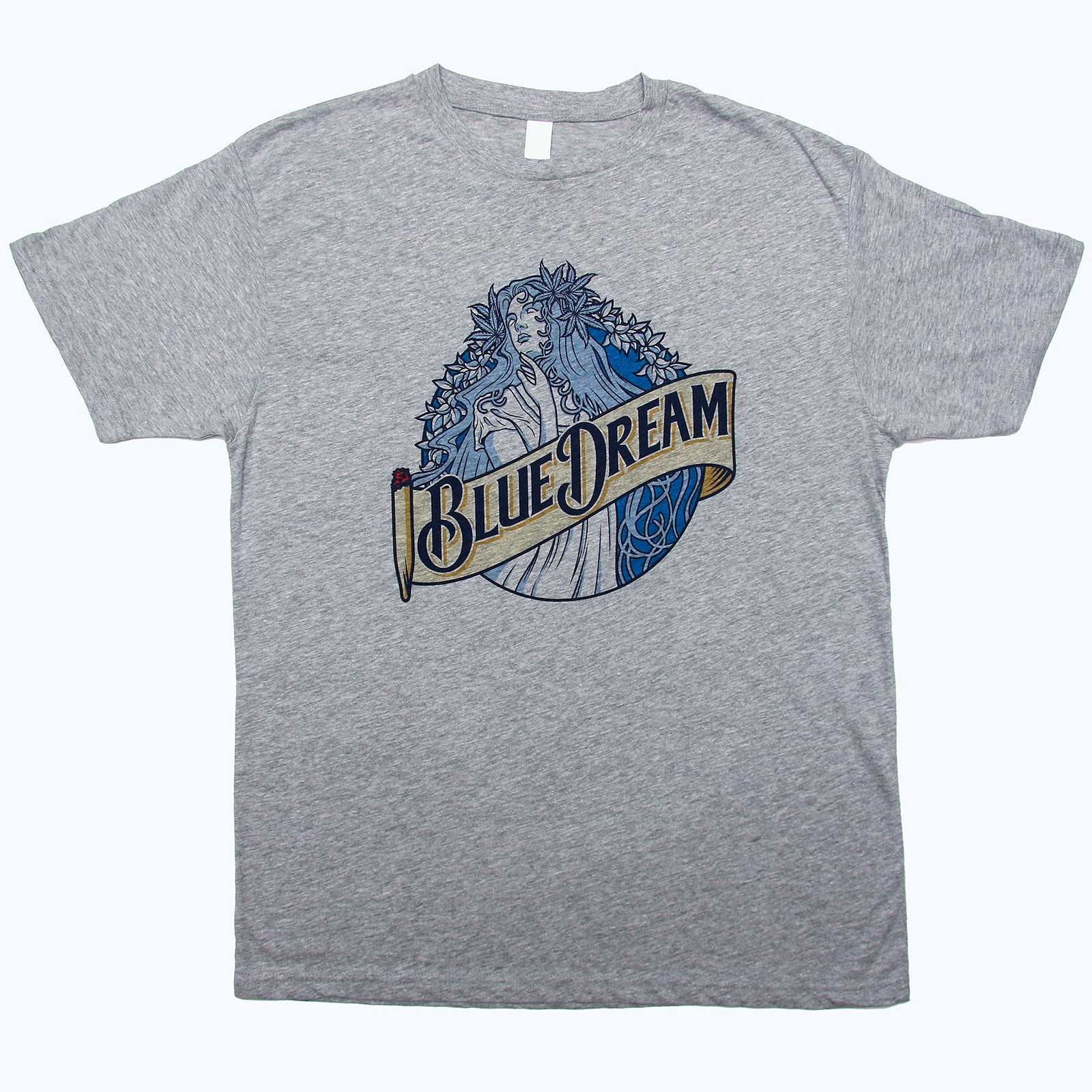Blue Dream 420 Cannabis Beer Mash-up T Shirt