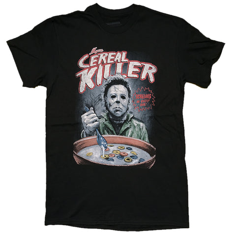 Halloween Michael Myers Cereal Killer Parody T-Shirt Unisex Sizes S to 3XL