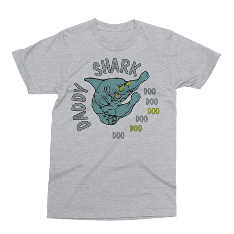 Daddy Shark Doo Doo Dancing Father's Day T Shirt Gift