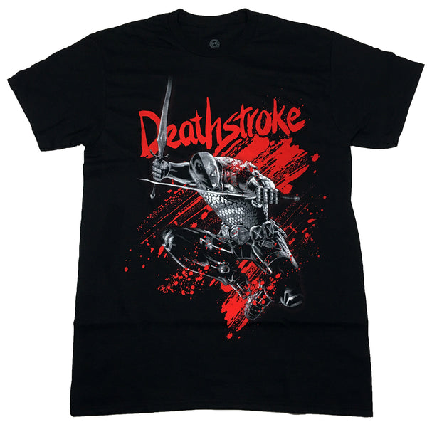 DC comics Deathstroke T Shirt Adult Unisex Sizes S to 3XL
