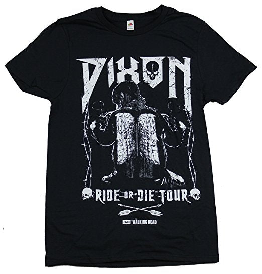 The Walking Dead Daryl Dixon Ride or Die Tour T Shirt Adult Unisex S-3XL sizes