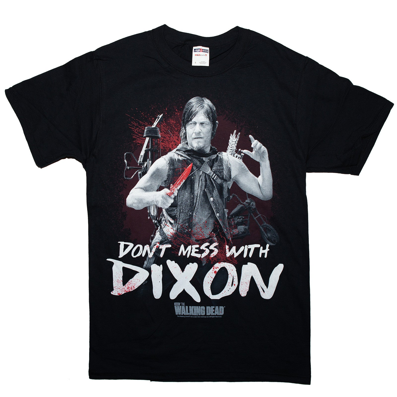The Walking Dead Daryl Dixon  T-shirt Adult Unisex Sizes S to 3XL