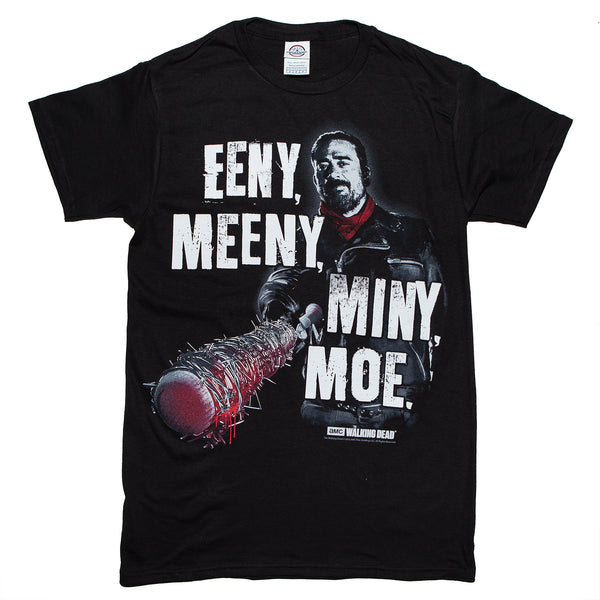 The Walking Dead Negan EENY MEENY MINY MOE T Shirt