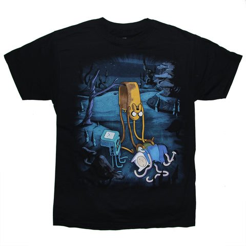 Adventure Time with Finn and Jake T Shirt Adult Unisex Sizes S to 3XL