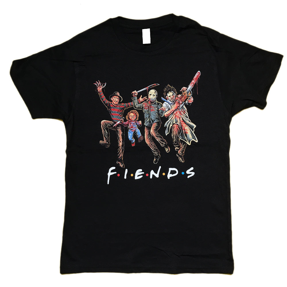 Horror Fiends Squad Friends Halloween Parody Unisex T-Shirt