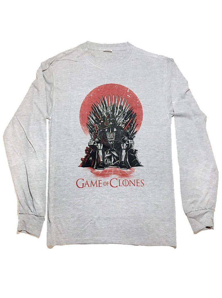 Game of Clones Parody Long Sleeve T Shirt