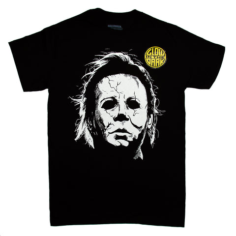 HALLOWEEN MICHAEL MYERS GLOW IN THE DARK T-Shirt Adult Unisex Sizes S to 3XL