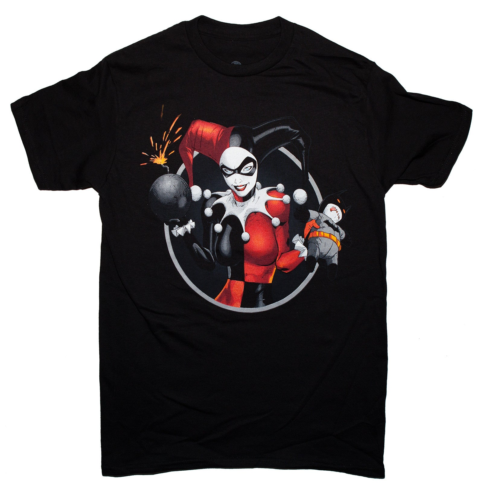DC Comics Harley Quinn Bomb T-shirt Unisex Adult Sizes S-3XL