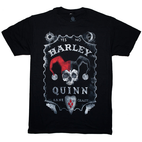 DC Comics Harley Quinn Board T Shirt Adult Unisex Sizes S to 3XL