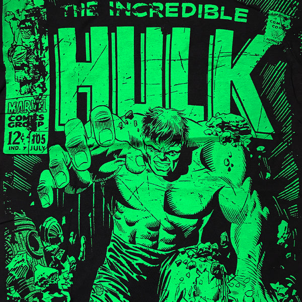 Marvel Comics The Hulk Adult Unisex T-Shirt