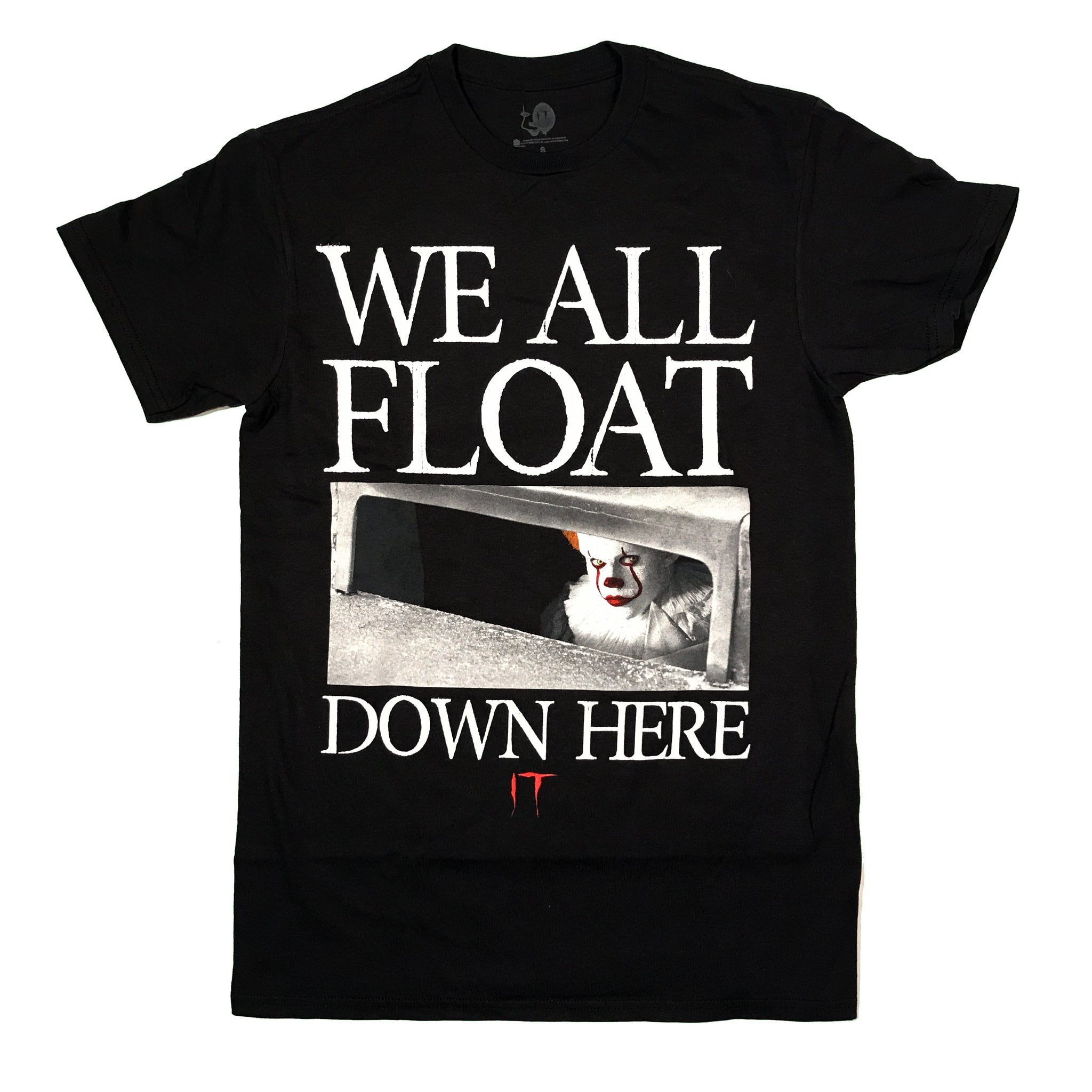IT Pennywise We All Float Down Here T Shirt Adult Unisex Sizes S to 3XL