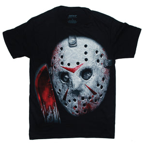 Friday the 13th Jason Voorhees  JASON CLOSE UP T Shirt