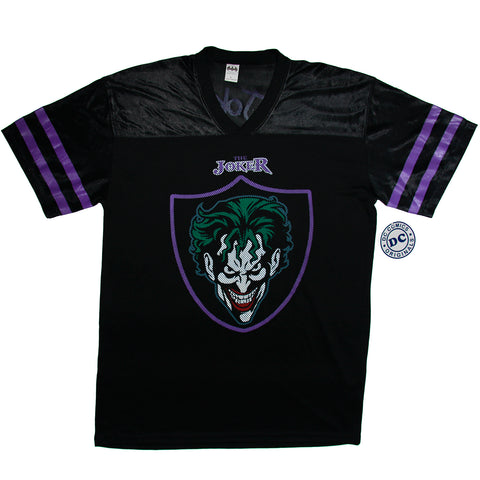 DC Comics Joker Fashion Top Football Shirt Adult  Unisex Sizes M to XL