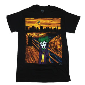 DC Comics The Joker Scream T Shirt  Adult Unisex Sizes S to 3XL