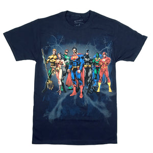 DC Comics Justice League Elite T Shirt Adult Unisex Sizes S to 3XL