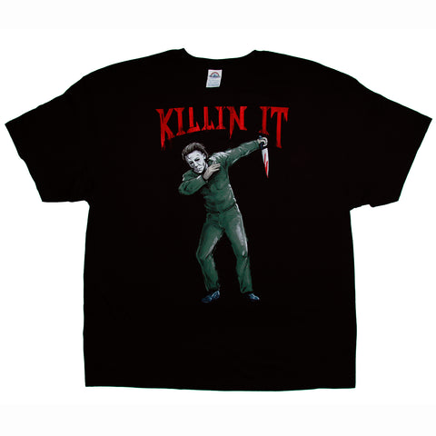 Halloween Michael Myers Dab T-Shirt Adult Unisex Sizes S to 3XL