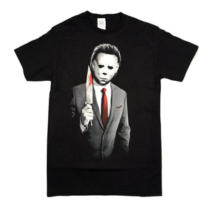 Halloween Michael Myers Killer Power Suit T Shirt Unisex Adult Sizes S to 3XL