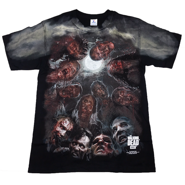The Walking Dead Full Moon Zombies T Shirt Adult Unisex Sizes S to 3XL