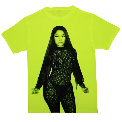 Nicki Minaj Safety Green T Shirt