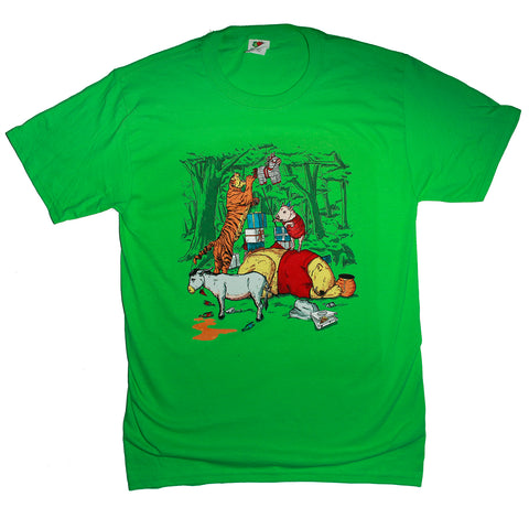 Pooh Party Parody T Shirt Adult Unisex Sizes S to 3XL
