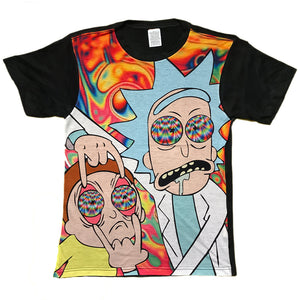 Rick and Morty Rickhallucination T Shirt Adult Unisex sizes S to 3XL