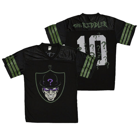 DC Comics The Riddler Fashion Football Jersey