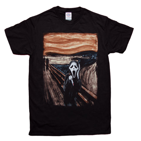 Ghostface The Scream Painting T-shirt