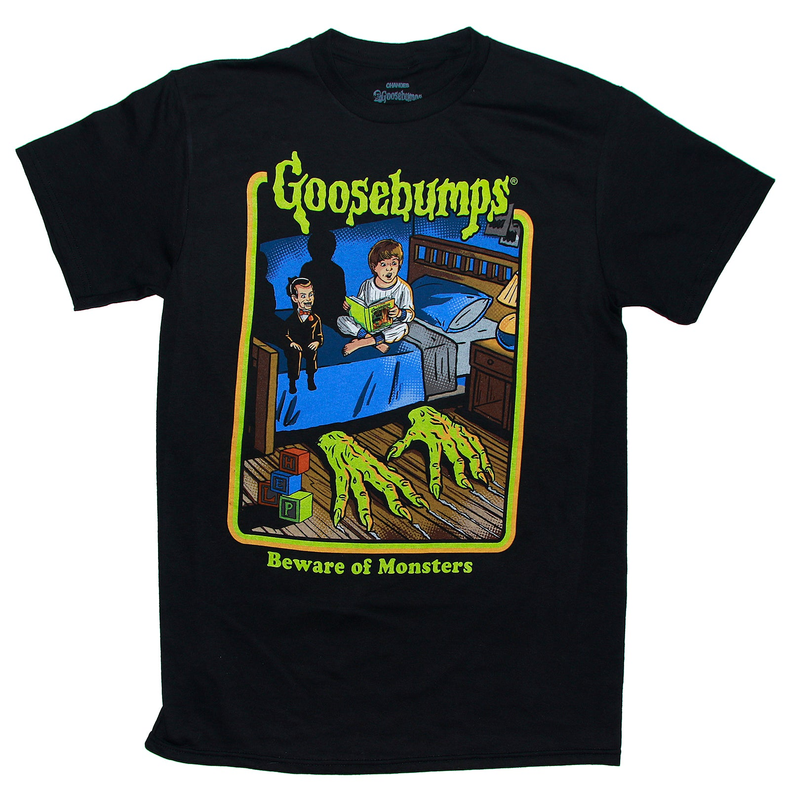 Goosebumps BEWARE OF MONSTERS T Shirt