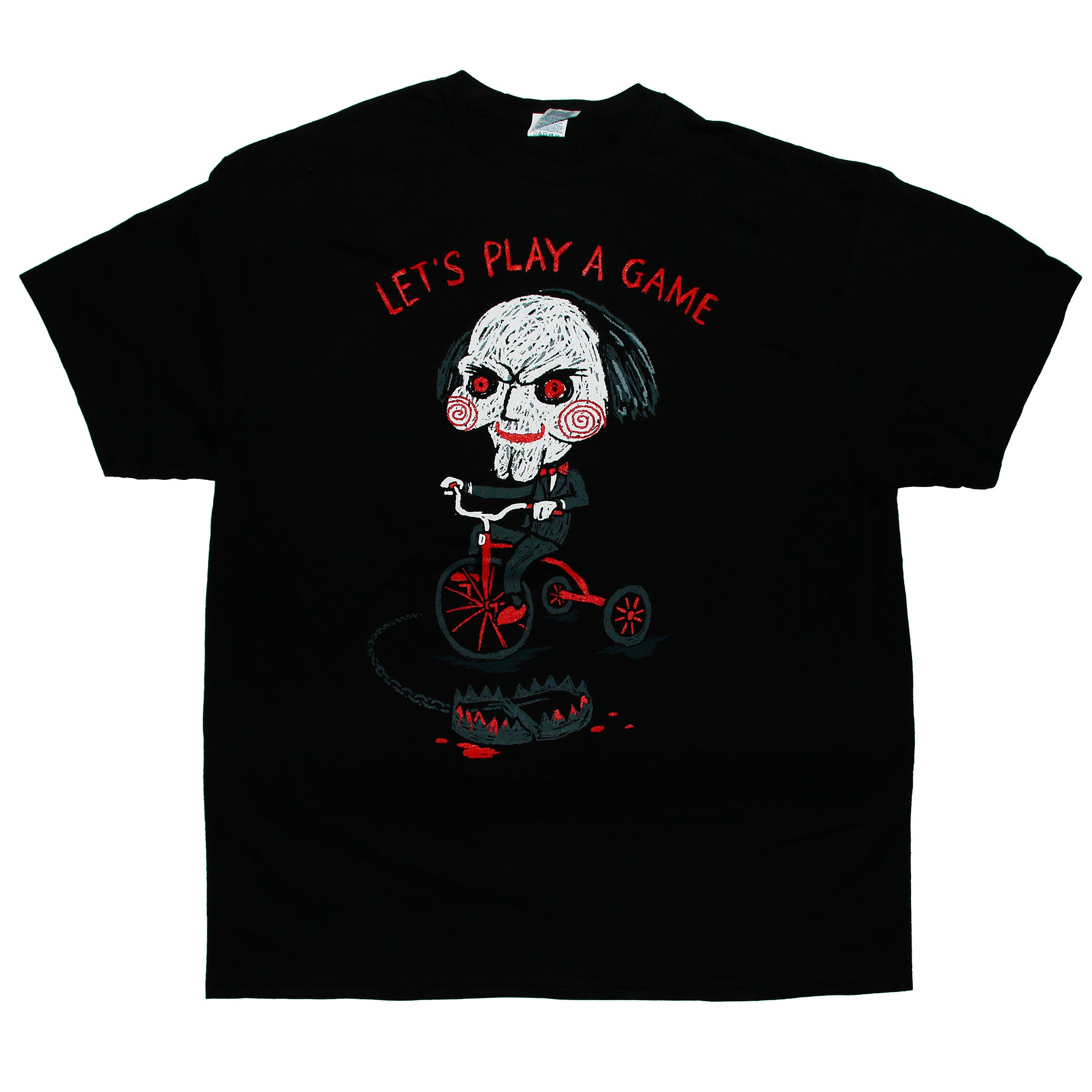 Saw LET'S PLAY A GAME T Shirt