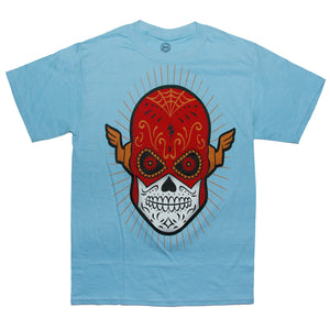 "DC Comics The Flash ""SUGAR SKULL FLASH"" T Shirt"