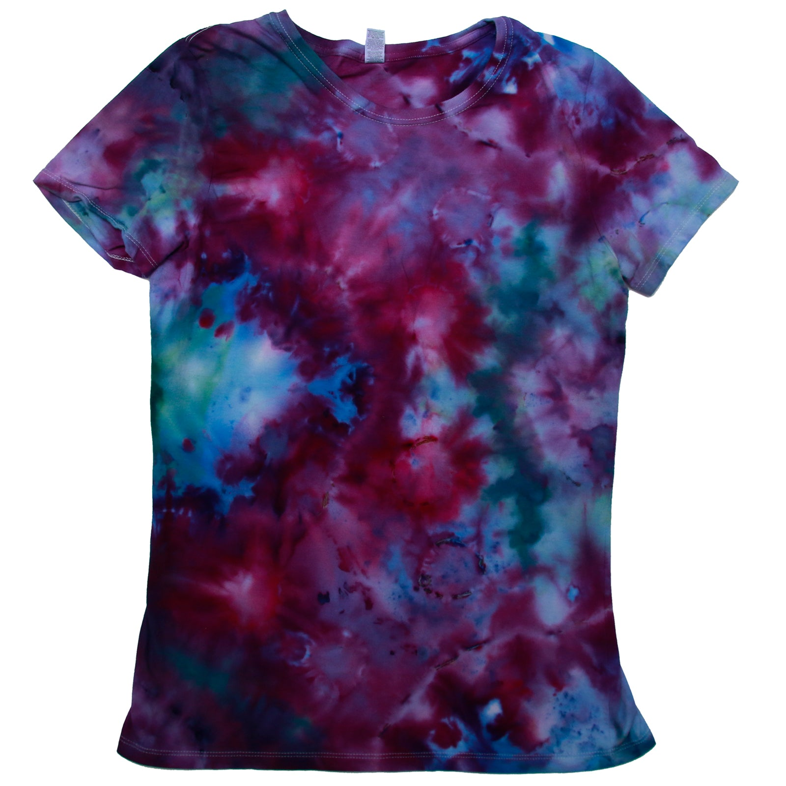 Tie Dye One Of A kind Ladies Size LARGE T-Shirt