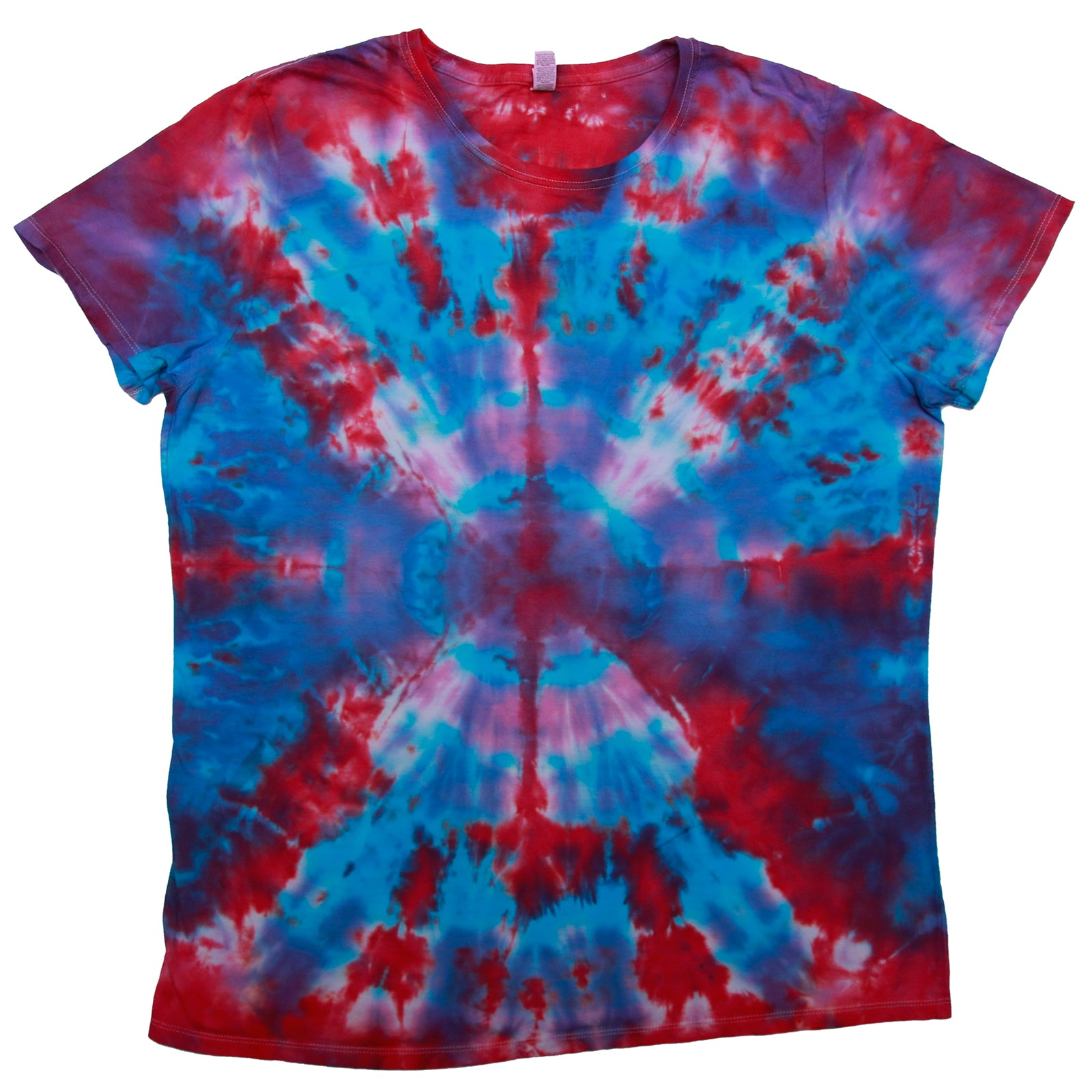 Tie Dye One Of A kind Ladies Size 3X-LARGE T-Shirt
